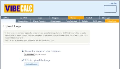 Screengrab - upload your logo